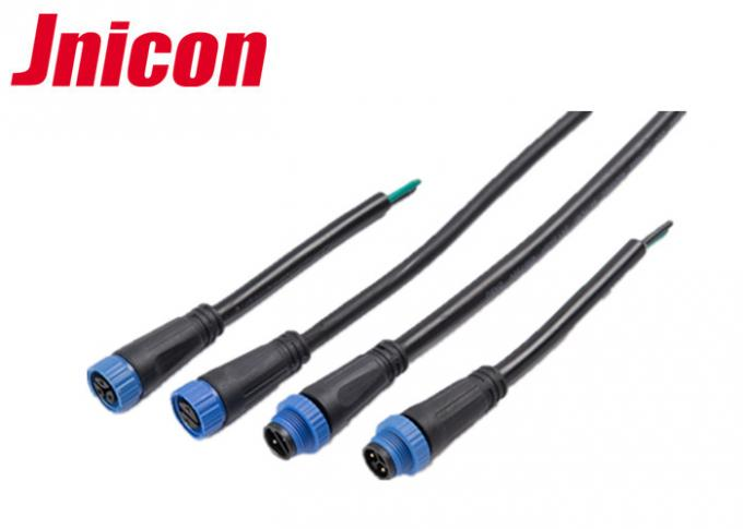 Jnicon 2 Pin Outdoor Cable Connector 300V 10A Underground IP68 Easy Assemble