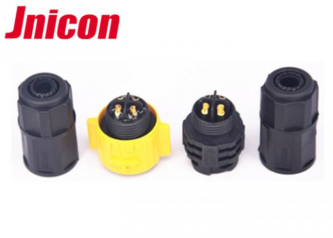 Eco - Friendly 20A IP67 Waterproof Circular Connectors Electrical 3 Pole 4 Pole IP67