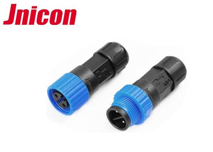 Electrical Waterproof 2 Pin Circular Connector Male Female For LED Lighting