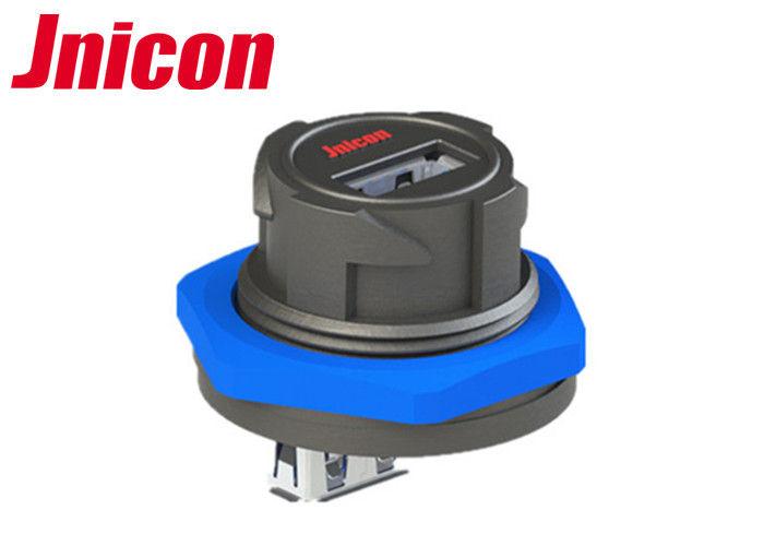 USB female socket plug panel mount adapter USB 3.0 waterproof connector IP67 Hw