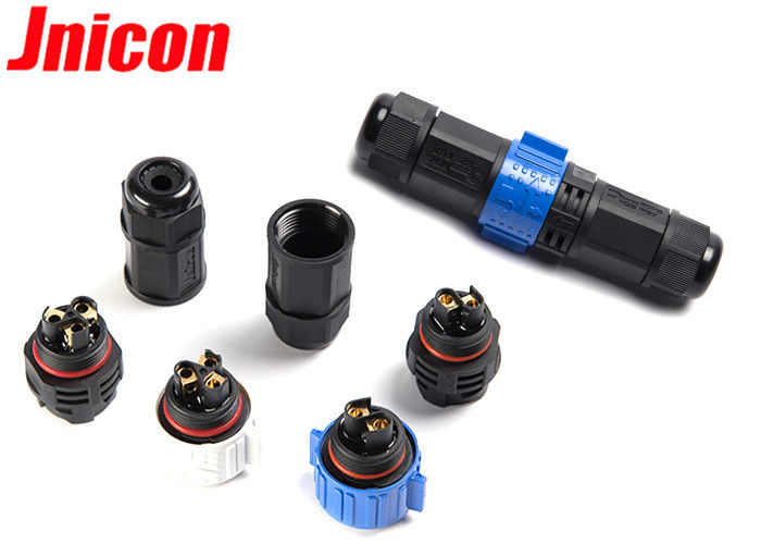 50 Amp Field Assembly Industrial Circular Connectors Waterproof With Screw Terminal