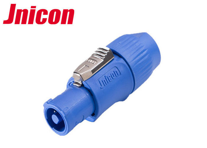 20A Powercon Watertight Electrical Plugs Connector Male 3 Pin For Outdoor LED Screen