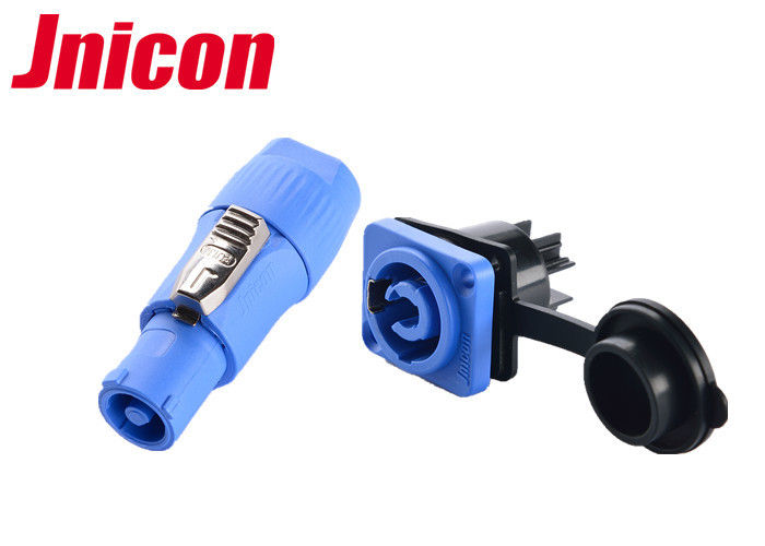 Plastic 20A IP65 Plug And Socket Easy Assemble High Performance Corrosion Resistance