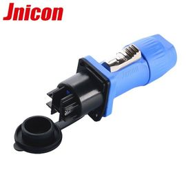 China 3 Pole IP65 Cable Plugs And Connectors High Stability Easy Assemble Long Service Life factory