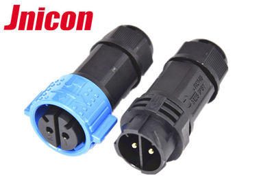 2 Pin 40A Waterproof Power Connector , M25 IP67 Bulkhead Power Connector