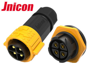 M25 IP67 Panel Mount Connector Female Plug Waterproof Connection Cables Easily