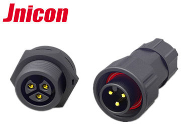 Screw Locking Waterproof Power Connector , M19 Waterproof Plug And Socket Cable Connector