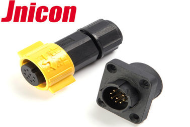 China Super Stable Waterproof Data Connector , Jnicon Waterproof Connector 8 Pin factory