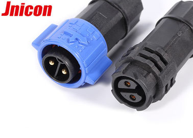 2 Pin Waterproof Plug Connectors , Waterproof Electrical Wire Plug Connectors
