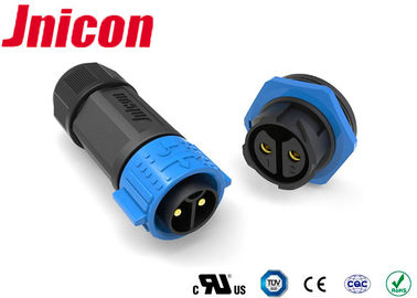 50Amp High Current Waterproof Connectors , High Current Power Connectors Jnicon 2 Pin